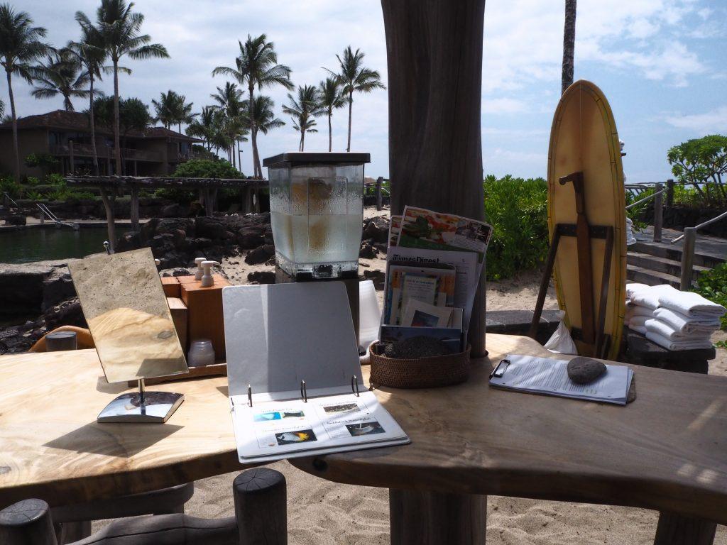 ハワイ島 フォーシーズンズホテル プール
