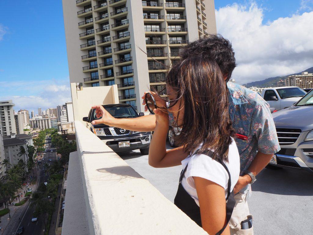 ハワイ カメラ 説明