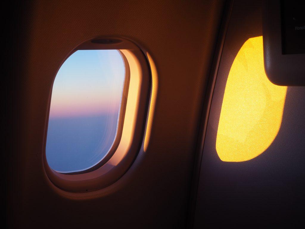 飛行機 景色 絶景