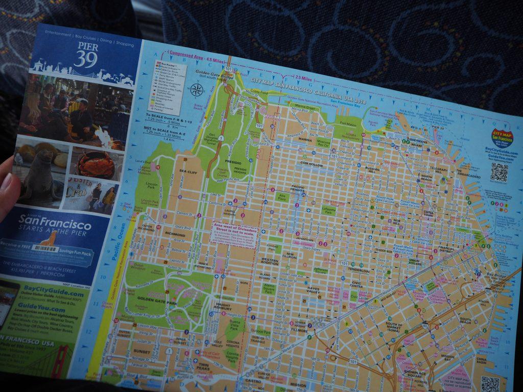 サンフランシスコ 地図 場所