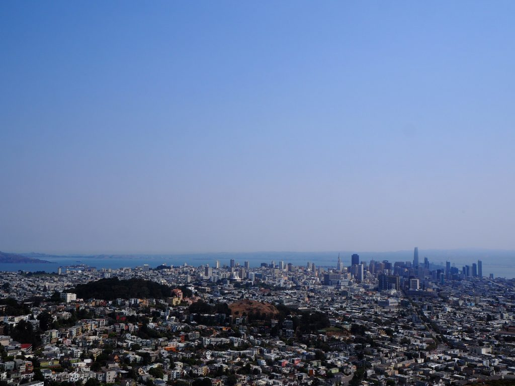 サンフランシスコ ツインピークス