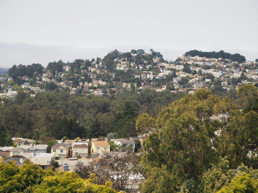 サンフランシスコ 可愛い 街並み