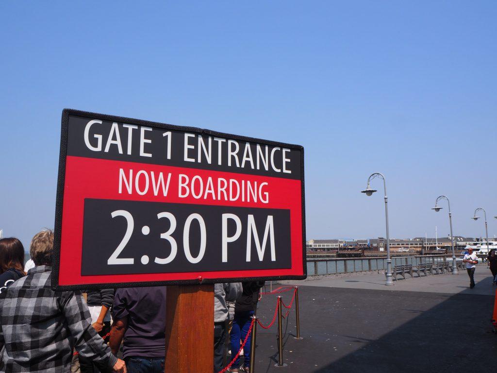 観光 船 サンフランシスコ