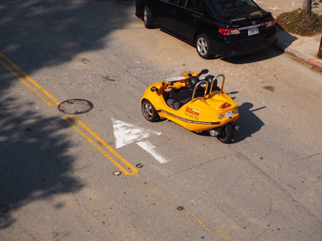 サンフランシスコ レンタカー 可愛い 小さい
