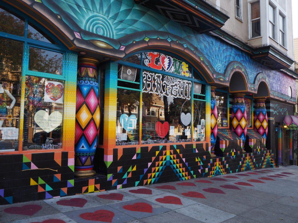 サンフランシスコ 雑貨 レインボー