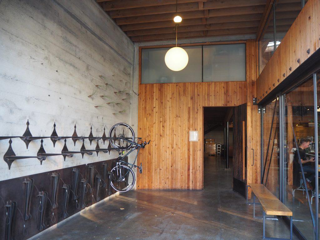 サンフランシスコ 自転車 犬 OK カフェ