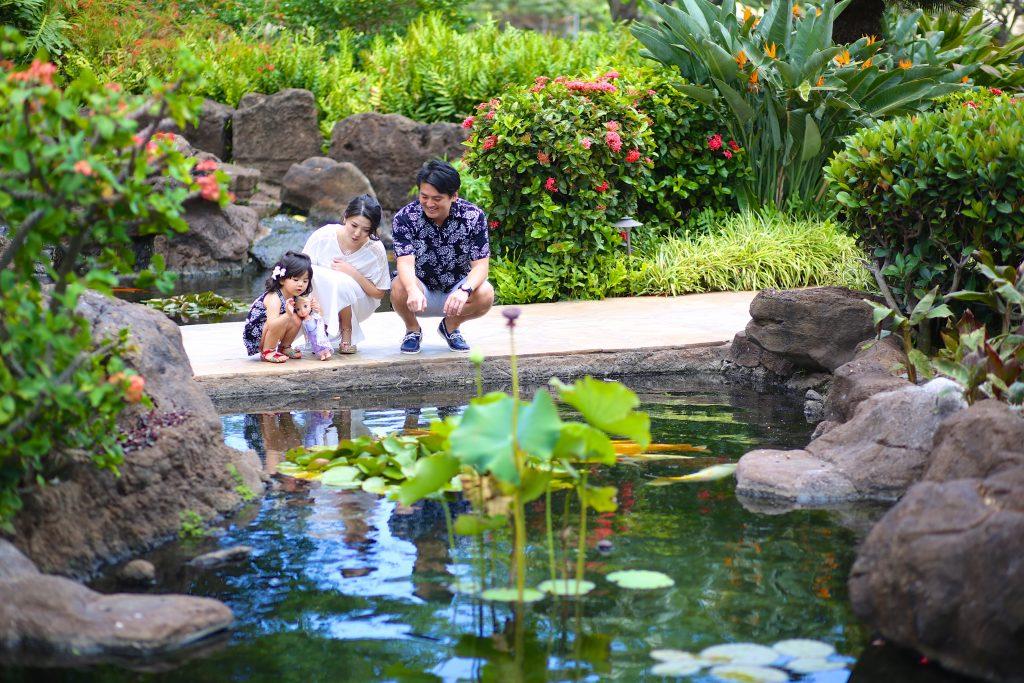 ハワイ 家族写真 フォトツアー
