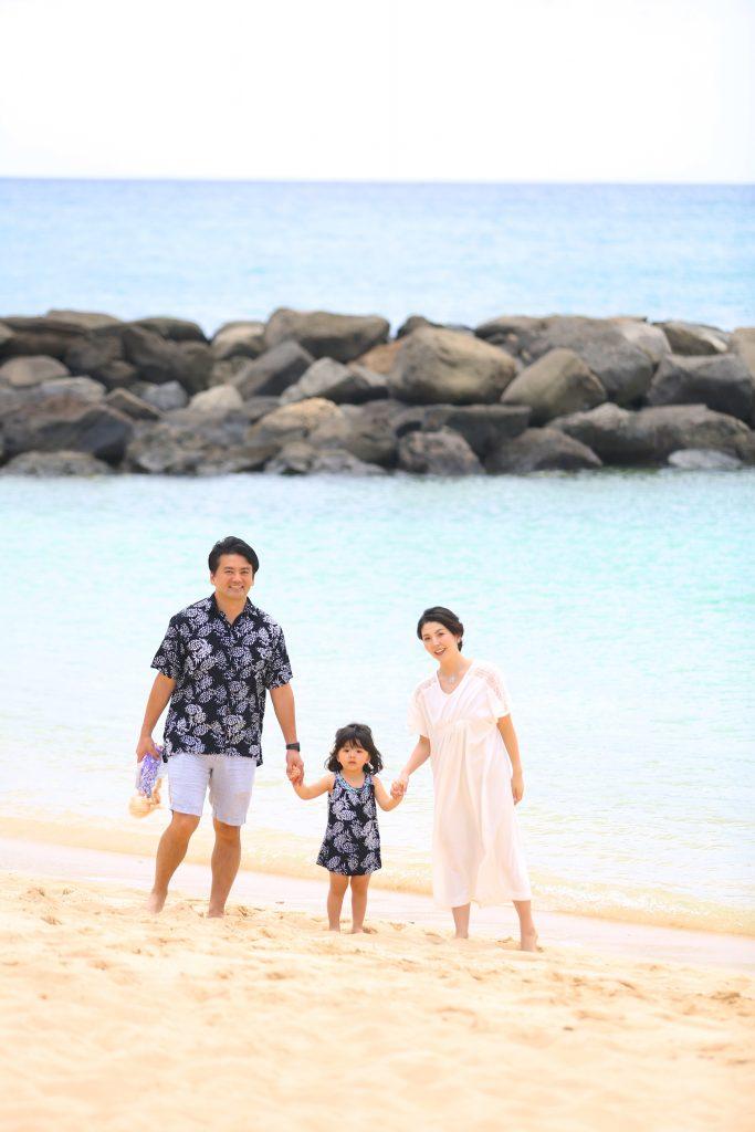 ハワイ 私服 撮影
