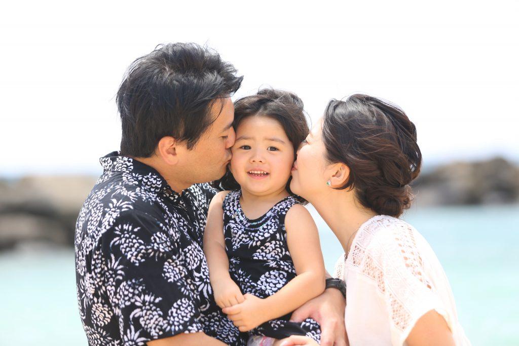 ハワイ 家族写真 AFLOAT Hawaii