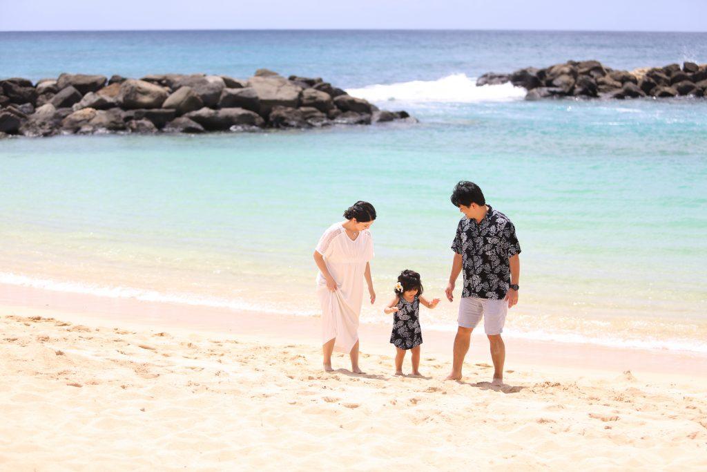 ハワイ ビーチ撮影 人気