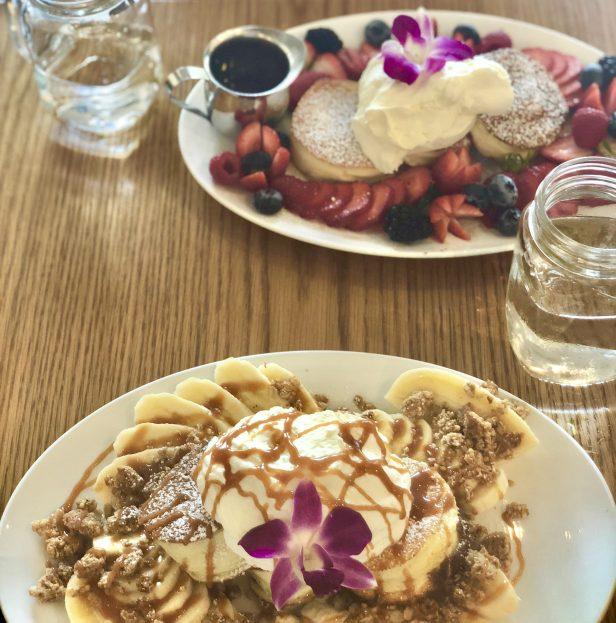 サニーデイズ カフェ モンストラット ホノルル ハワイ  パンケーキ