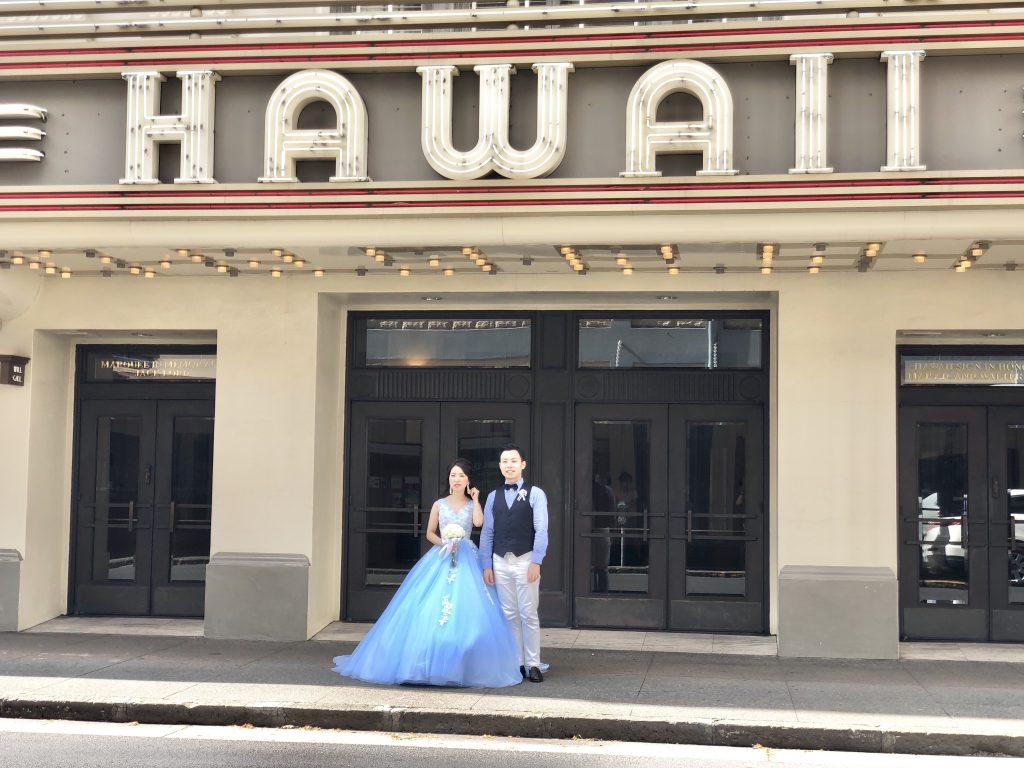 ハレクラニ ハワイ ウエディング フォトツアー ブライダル ワイマナロ カピオラニ ダウンタウン