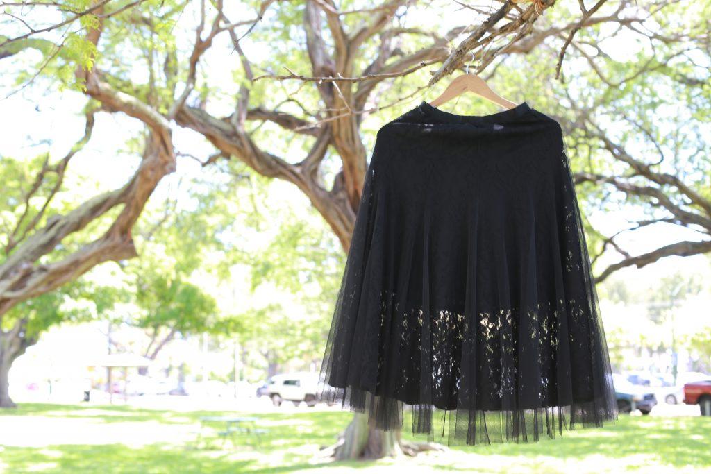 黒 スカート レンタル