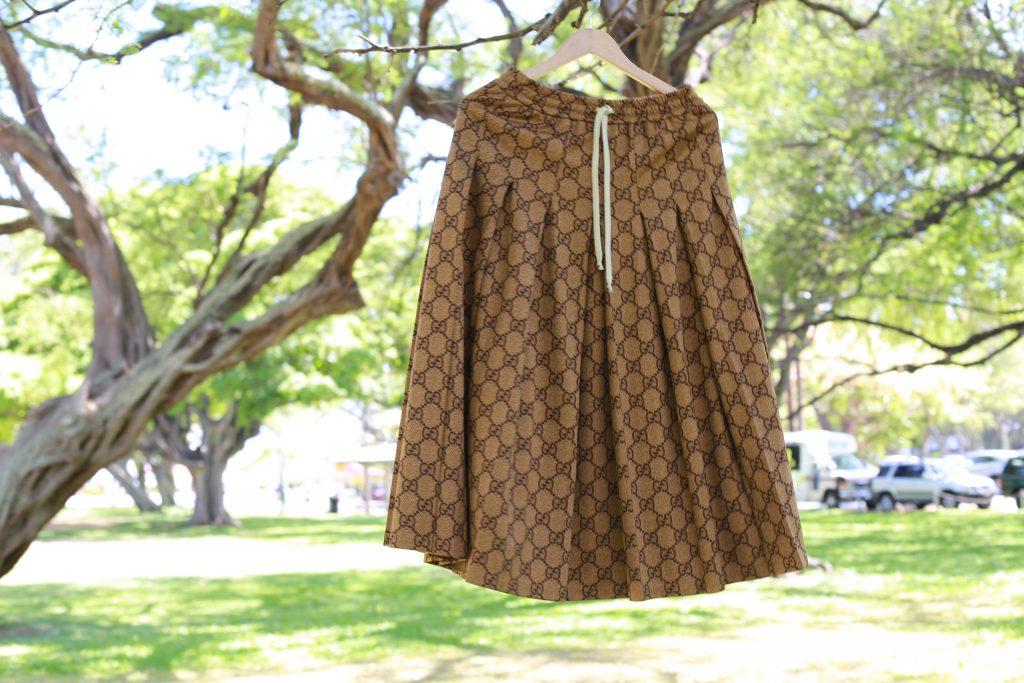 グッチ スカート 可愛い