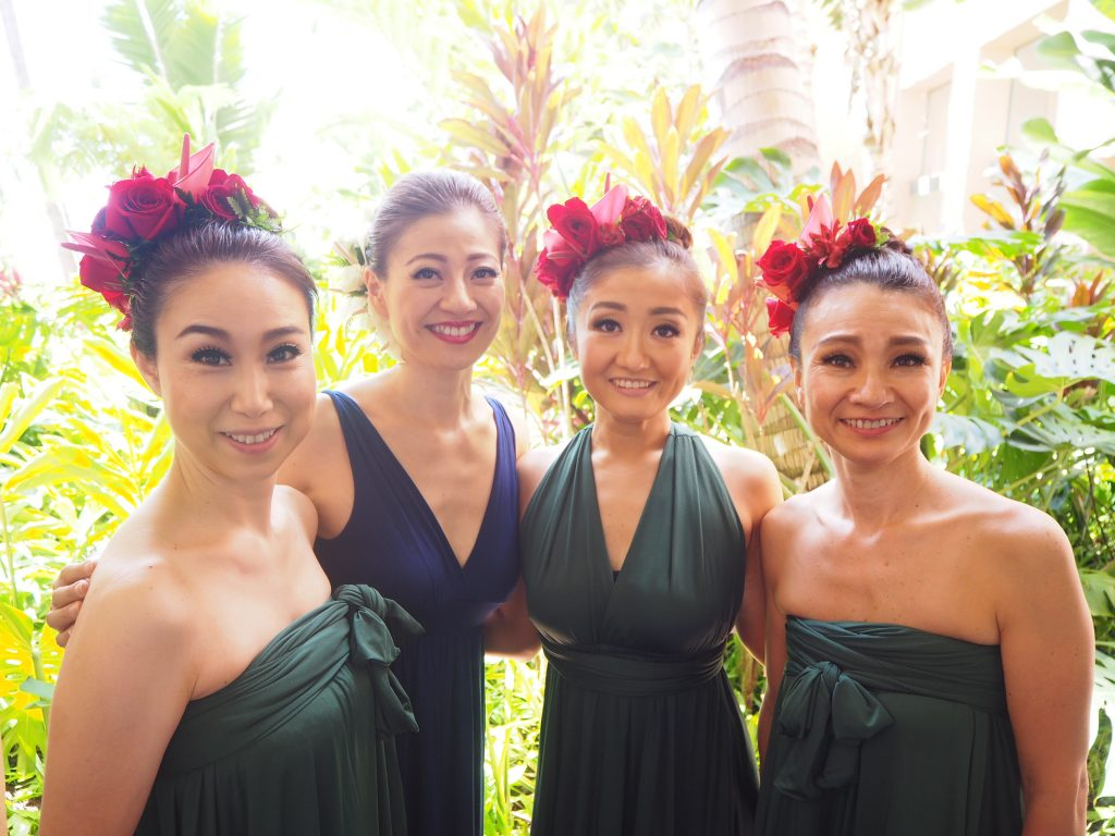 ハワイ フラダンス ロイヤルハワイアンホテル
