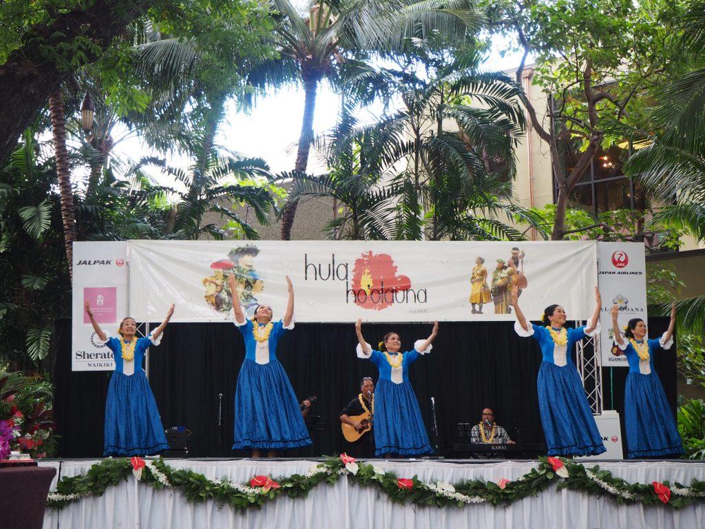 ハワイ グループ フラダンス