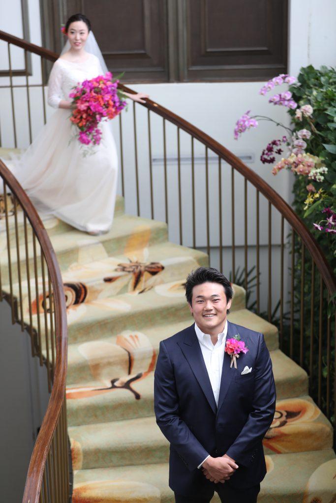 ハワイ ファーストミート 階段