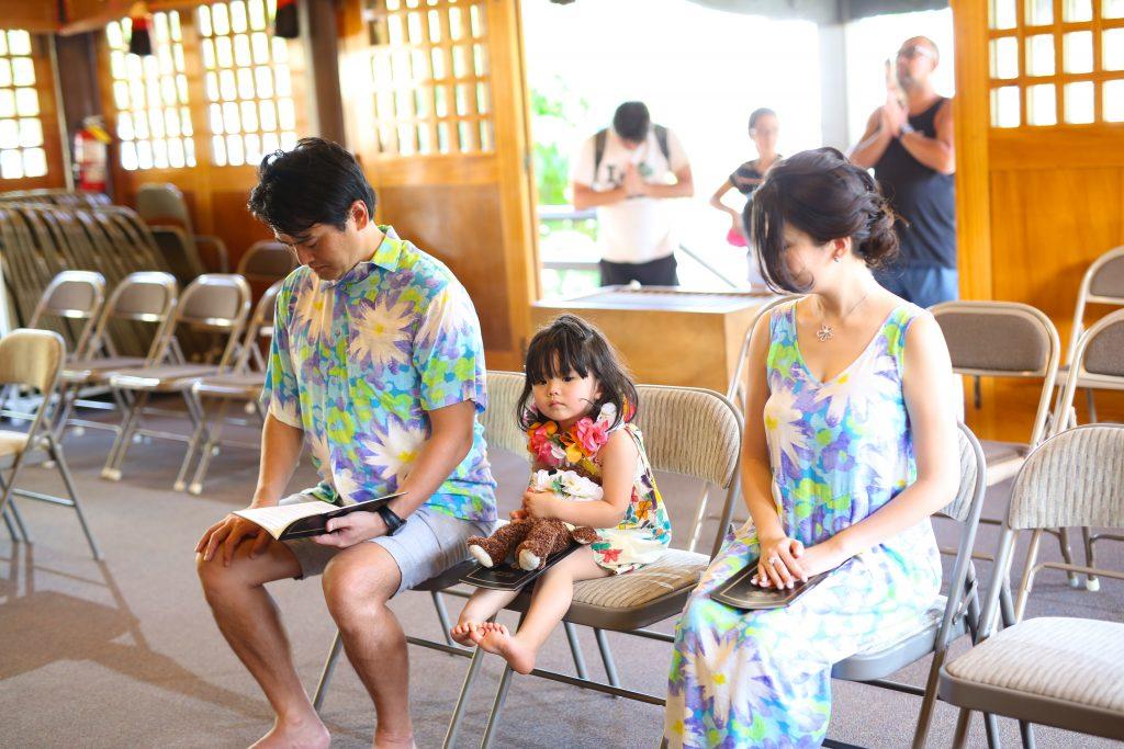 ハワイ 子供 ヘアメイク