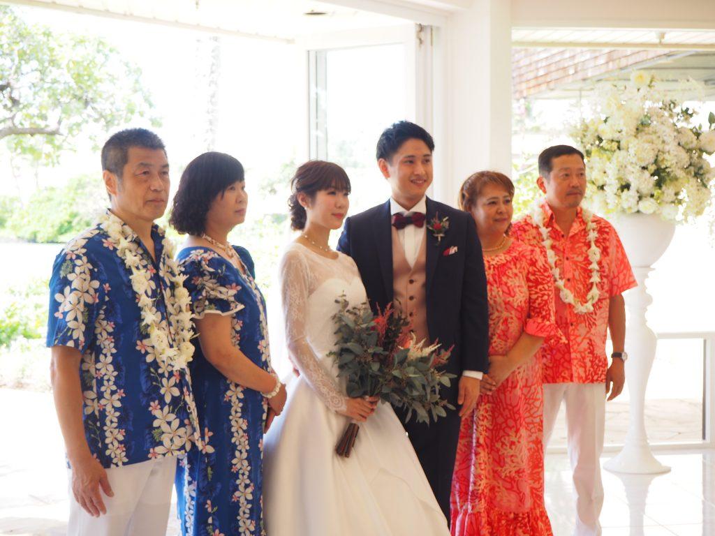 ハワイ 挙式 様子
