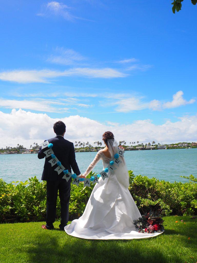 ハワイカイマリーナチャペル 挙式 レポ