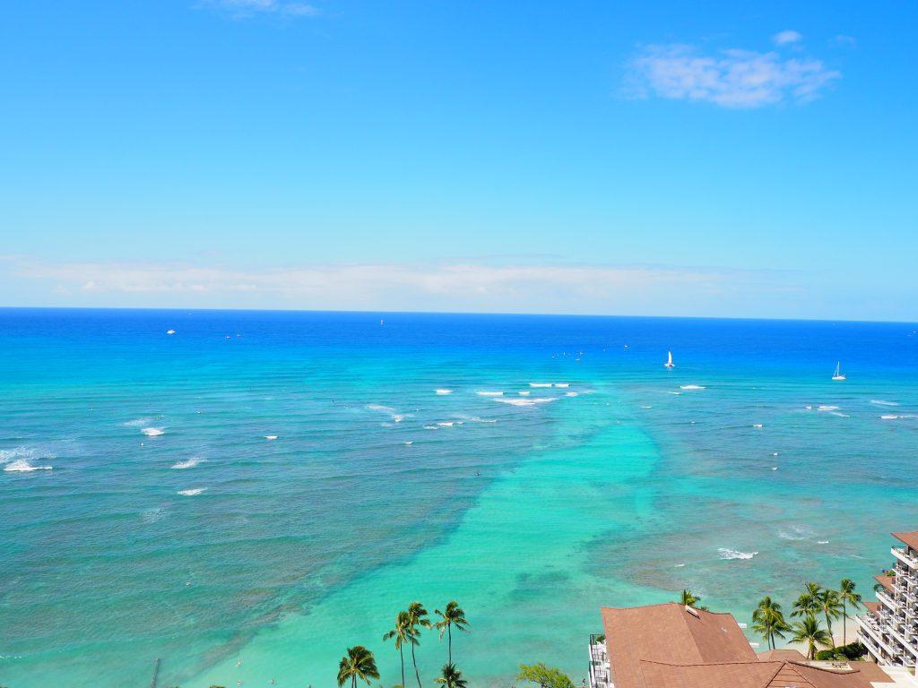 ハワイ ビーチ 絶景