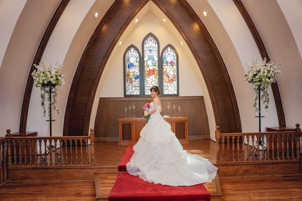 ハワイ フォトウェディング 教会