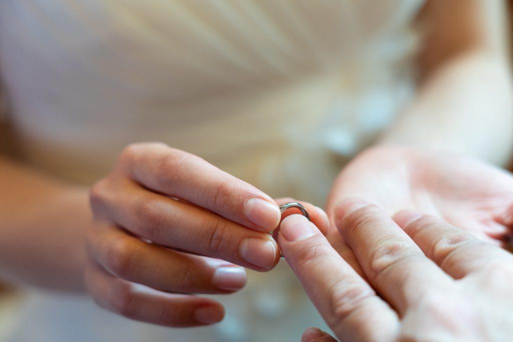 指輪 結婚式