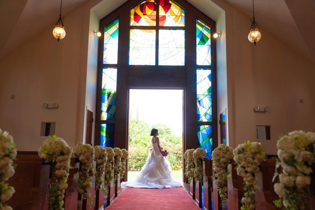 ハワイ 結婚式 アネラガーデン