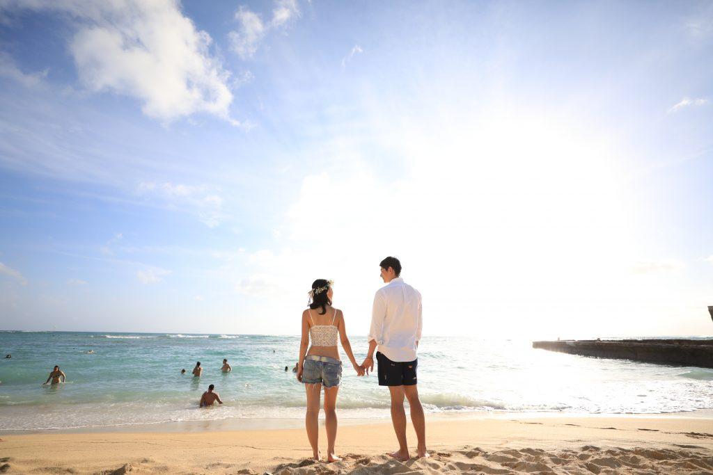 ハワイ ビーチフォト 撮影