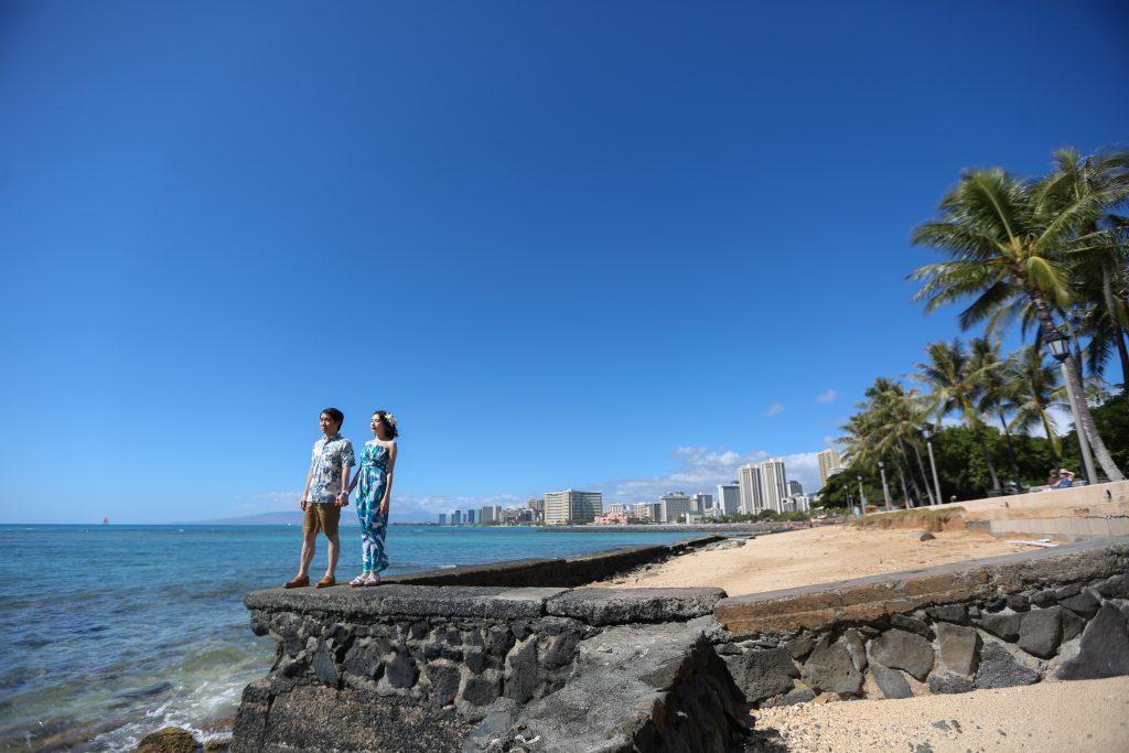 ハワイ フォトウェディング 撮影