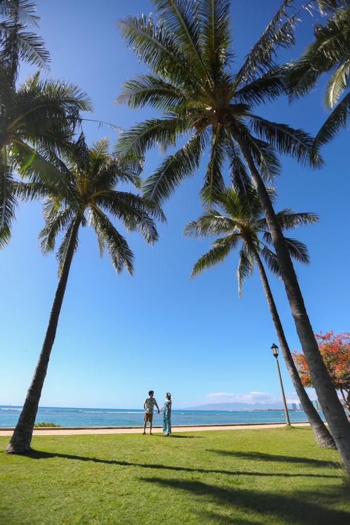 ハワイ 写真撮影 カップル