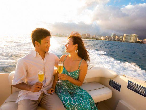ハワイ 船 撮影