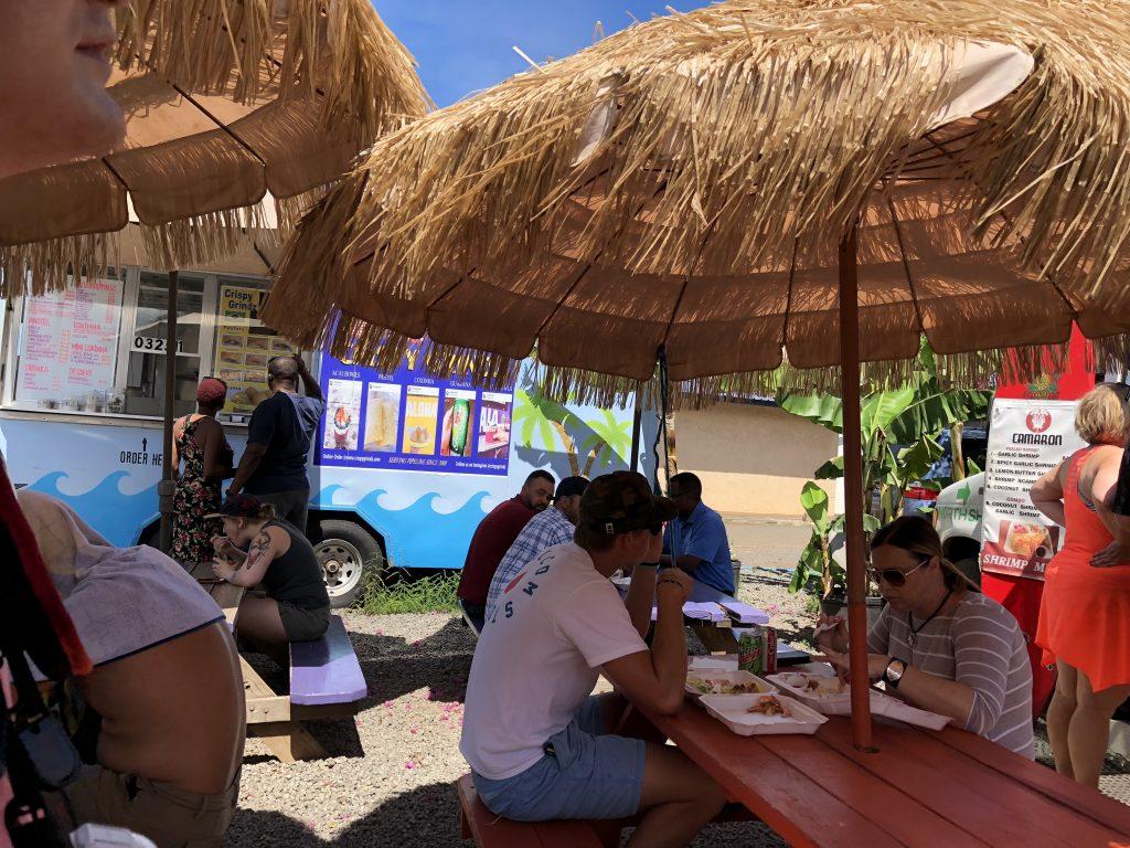 ハワイ カマロン ホワイトソース