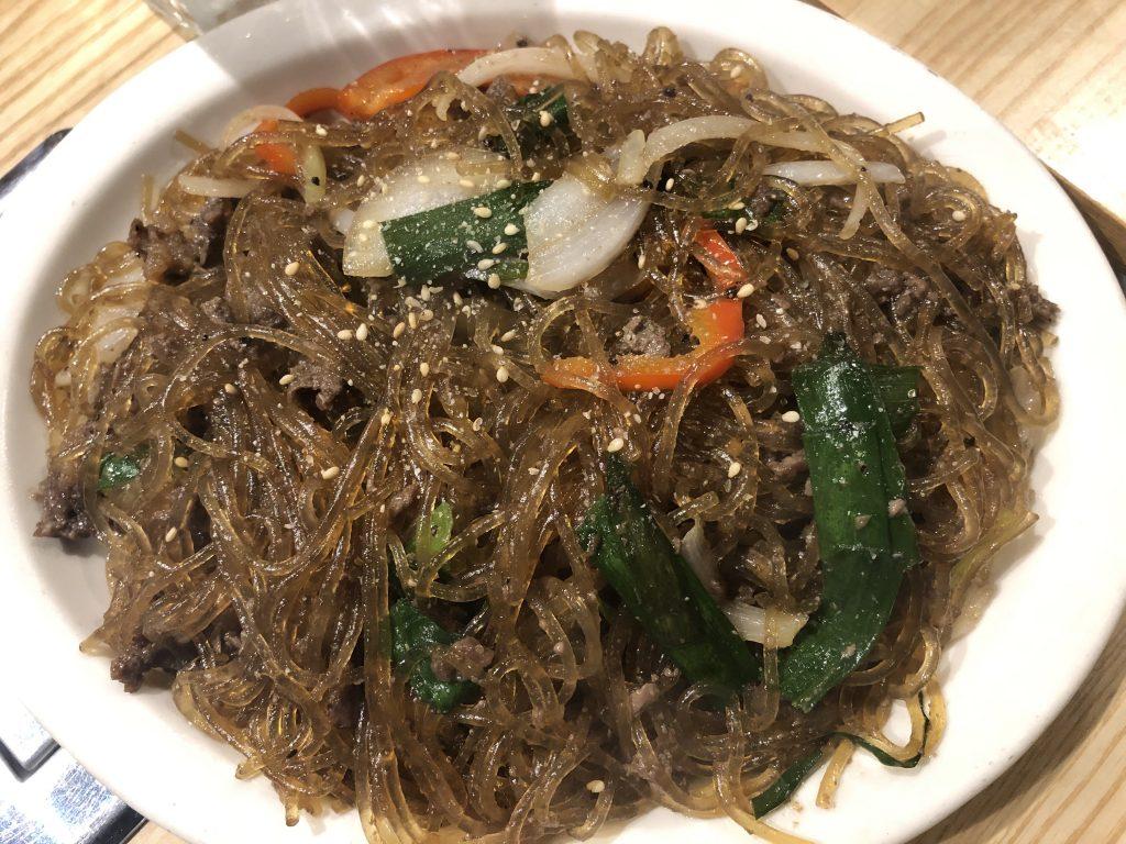 チャプチェ 韓国料理 美味しい