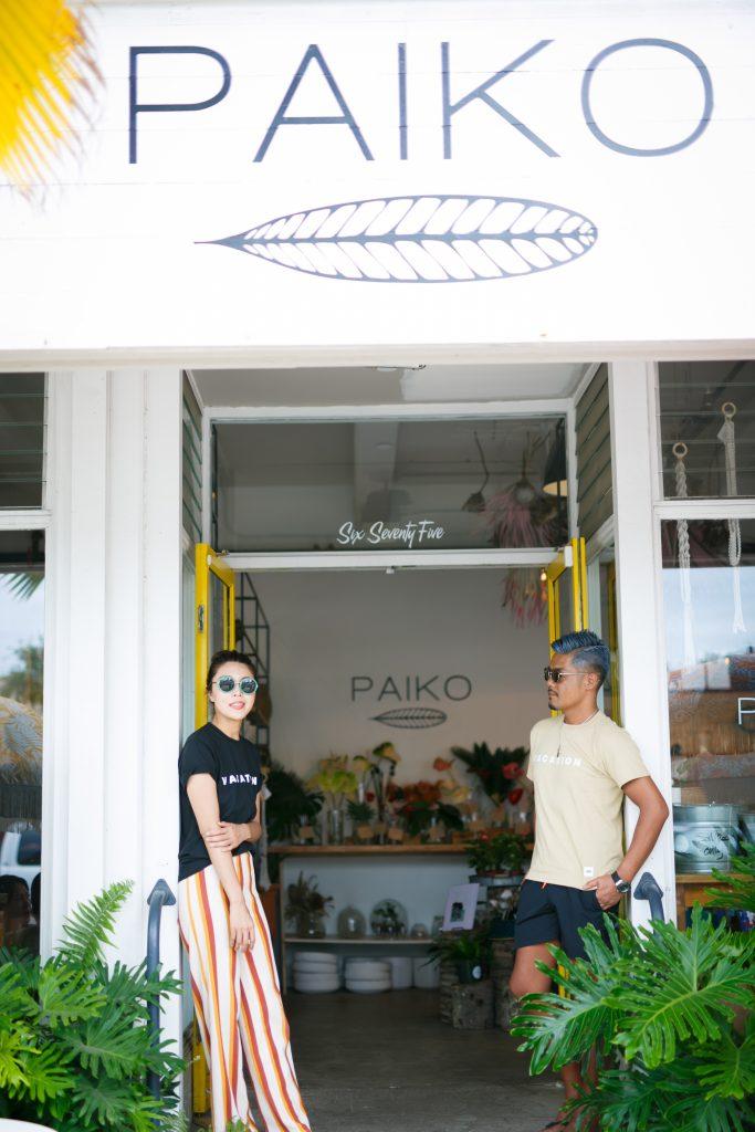ハワイ カカアコ カフェ 撮影