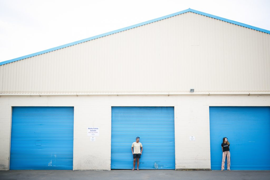 ハワイ 倉庫 カカアコ 撮影
