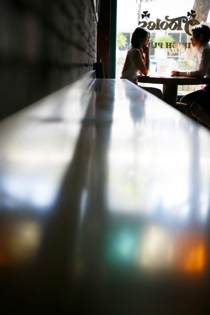 ハワイ ダウンタウン撮影 カフェ バー