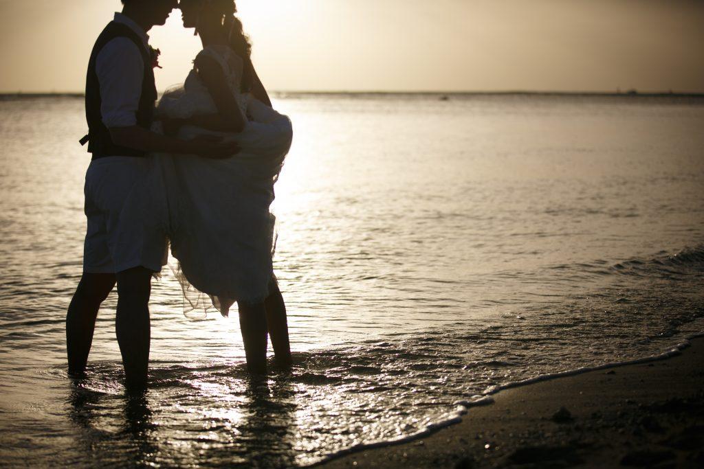 ハワイ ビーチ撮影 綺麗
