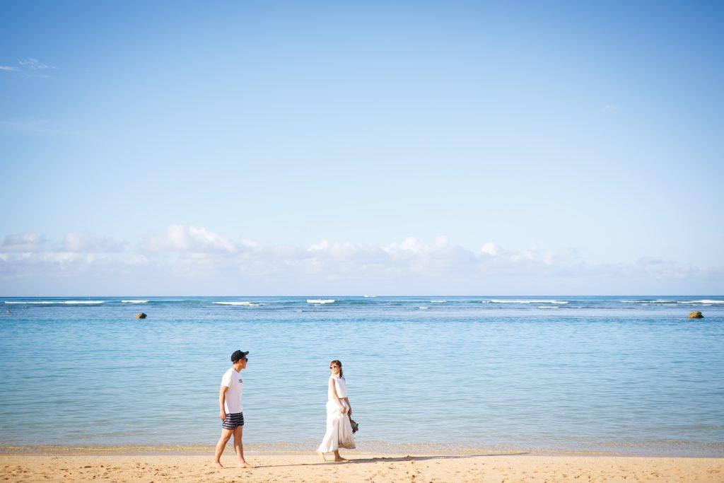ハワイ フォトウェディング ビーチフォト