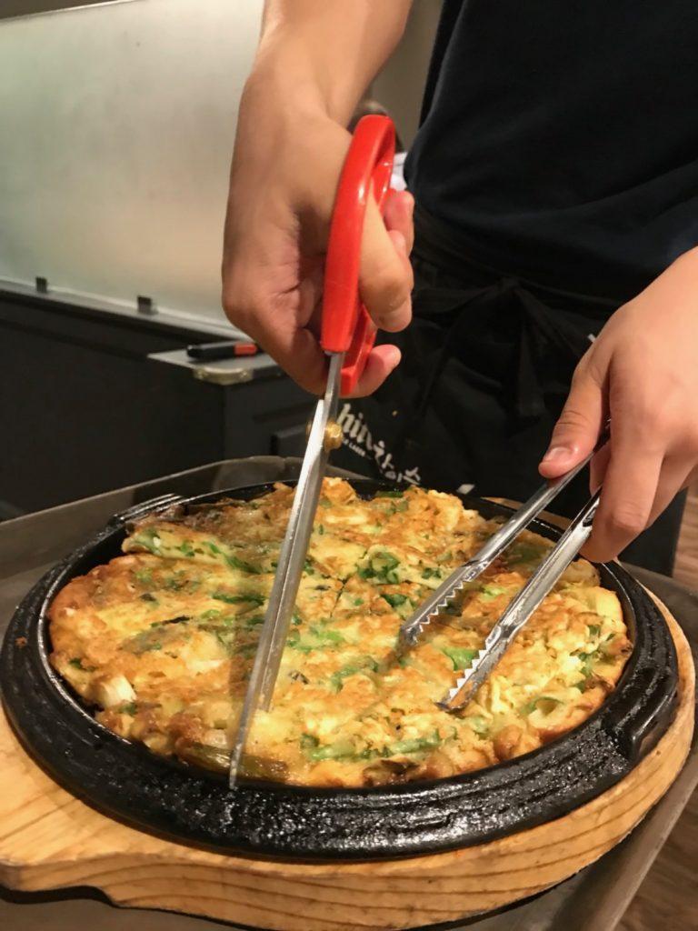 ハワイ 韓国料理 チヂミ