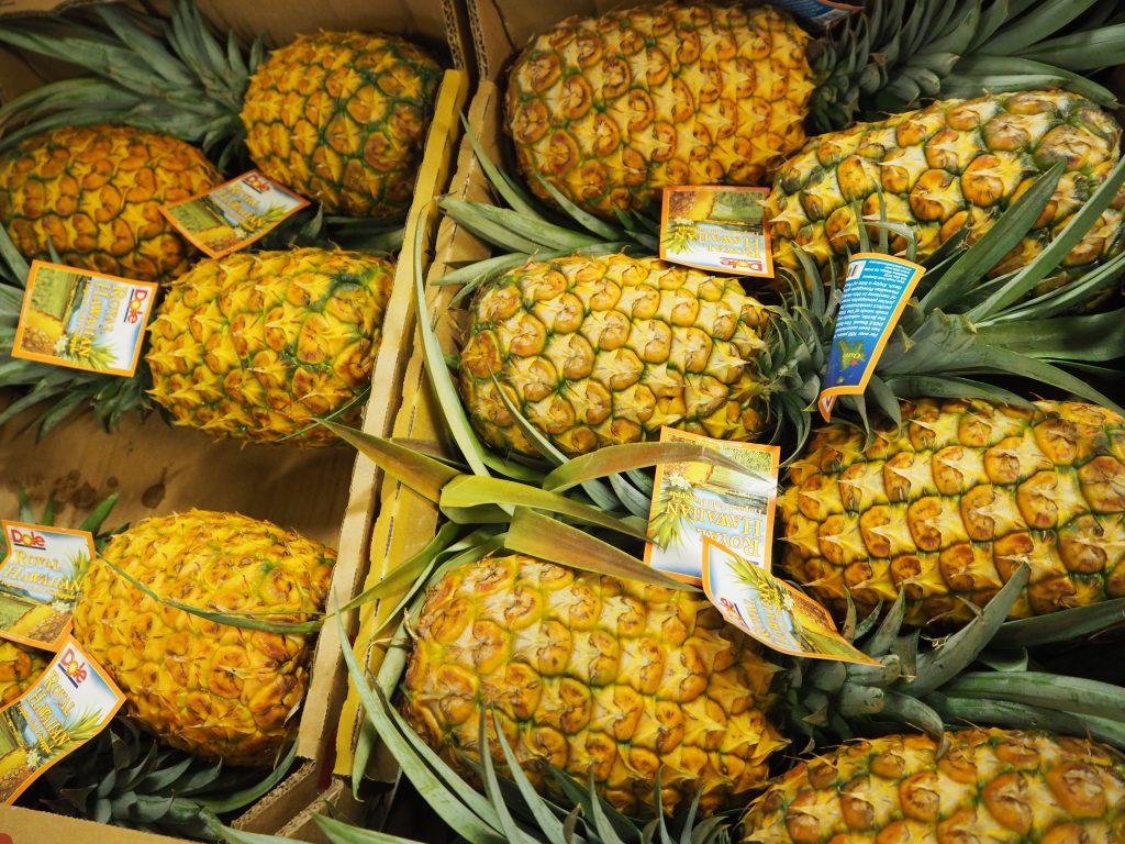 ハワイ パイナップル 美味しい
