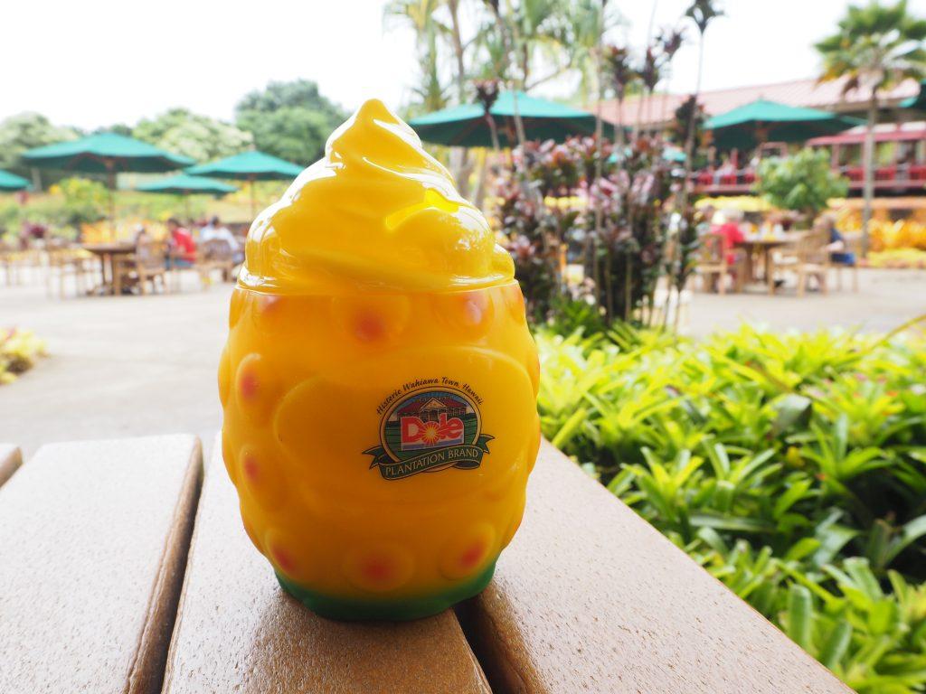 ハワイ Dole Plantation アイスクリーム