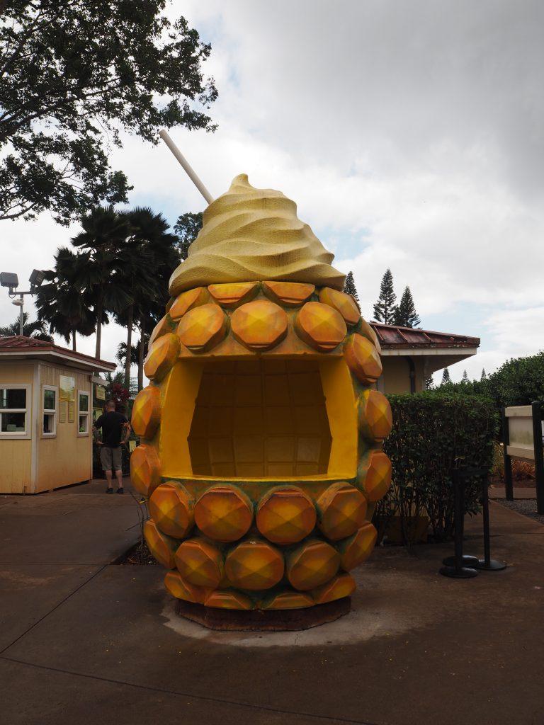 ハワイ フォトジェニック パイナップル