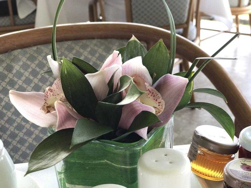 ORCHIDS テーブルセッティング