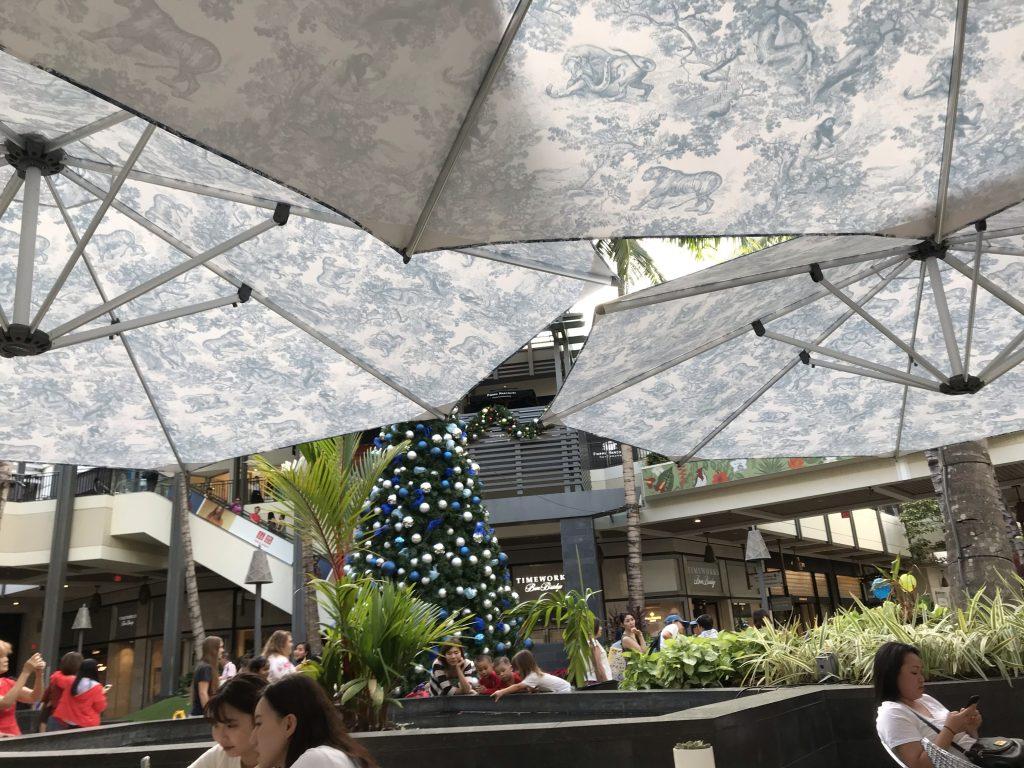 ハワイ Diorカフェ