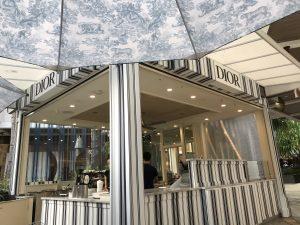 アラモアナショッピングセンター Diorカフェ