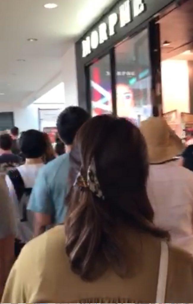 アラモアナショッピングセンター 大混雑