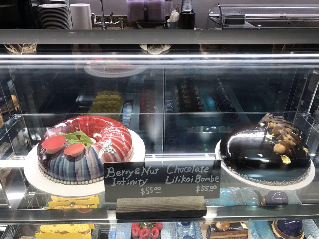 お洒落なケーキ