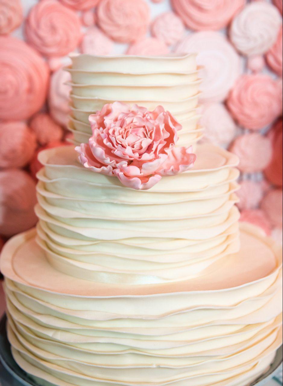 ウェディングケーキ お姫様系
