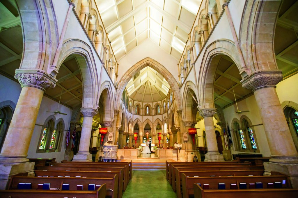 セントアンドリュース大聖堂 ステンドグラス